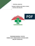 Proposal Vaksinasi BCG RS Batara Guru