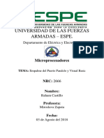 Puerto Paralelo Informe 2