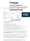 Client Info Form