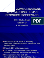 40253014-Verizon-Communications-Implementing-Human-Resource-Scorecard.ppt