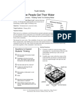 activity grades 4-8 howpeoplegetwater