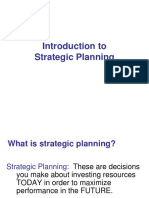 1 Startegic Planning