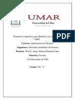 Avance Propuesta Competitiva Para Huatulco