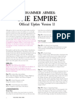 WFB Empire 8th FaQ
