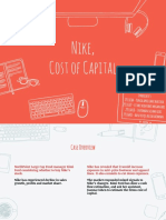 Nike, Inc - Cost of Capital & Investment Detective Case