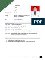 CV Terbaru Dimas