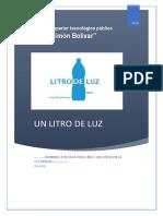 Un Litro de Luz Simon Bolivar