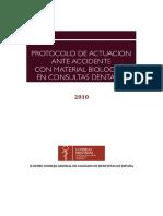 protocolo en accidentes