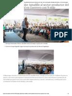 04-11-2018 Impulsa Gobernador Astudillo Al Sector Productor Del Mezcal en Guerrero Con 9 Mdp.