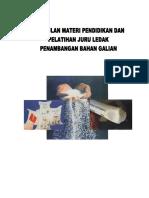 Kumpulan Materi Diklat Juru Ledak (1)