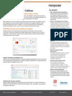 NeXpose Data Sheet - Rapid7