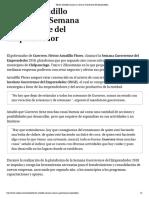 29-11-2018 Héctor Astudillo clausura la Semana Guerrerense del Emprendedor.