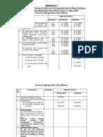 Revised Rates Agenda