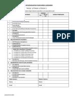 i. Ceklis Kelengkapan Dokumen Asesmen.