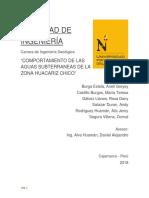 Informe Final Hidrogeologia