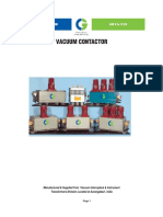 CG CATALOGUE of Vacuum Contactor