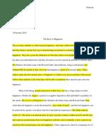 project space essay portfolio