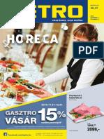 Metro Horeca Katalogus