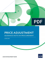 Procurement Price Adjustment