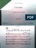 Turandot. G. Puccini