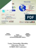 Program Lumen2014