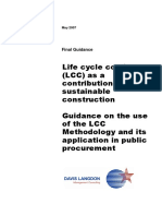 Report LCC Sustainable Construction Guidance May2007 En