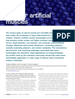 Polymer Artificial Muscles