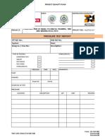 Tins Gen Chklist m 005 r00 Pressure Test Report