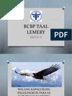 Bcbp Taal Lemery