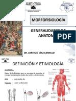 Generalidades de Anatomia 2013