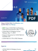 CCNA RS 6.0 Product Overview