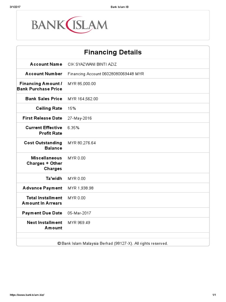 Bank Islam Ib Business Banking