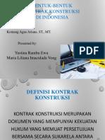 Bentuk-Bentuk Kontrak Konstruksi.pptx