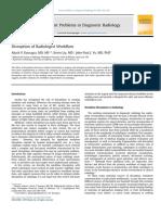 Disruption of Radiologist Workflow