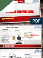 Lecture Plasma Welding