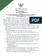 Hasil Seleksi Administrasi Seleksi CPNS Di Madina 1