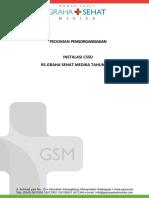 Dokumen pengorganisasian CSSD