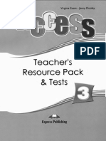 Access 3 - Teachers Resource Pack and Tests