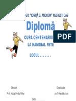Diploma Handbal