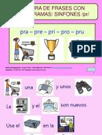 Lectura de Frases Con Pictogramas - Sinfon Pr