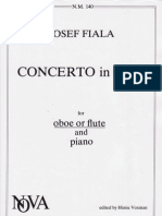 Josef FIALA -Oboe Concerto in B Major-oboe Solo