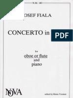 Josef FIALA -Oboe Concerto in B Major-oboe Solo