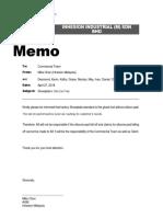 MEMO - Silicone Pad