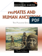 Thom Holmes Primates and human ancestors The pliocene epoch prehistoric earth  2009.pdf