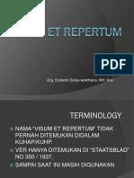 Visum Et Repertum