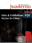 Quaderno n 2, 2007 Fairs & Exhibitions
