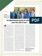 Tribune Novembre 2018 - Groupe Socialiste et Républicain 94
