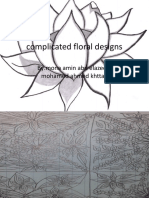 Complicated Floral Designs
