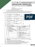 Hsc Commerce March 2018 Board Question Paper Sp