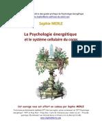 Psychologie Nergtique Et Systme Cellulaire Du Corps 2